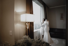 Wedding Day Rio and Evi by Luminous Bridal Boutique