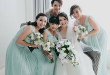 Wedding day Teresa and Yosua by Luminous Bridal Boutique