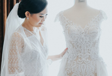 Wedding Day Alvin and Novie by Luminous Bridal Boutique