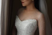 Wedding Day Reinard and Priscilla by Luminous Bridal Boutique