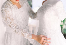 Wedding Day Malvin and Siska by Luminous Bridal Boutique