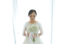 Wedding Day William and Yulia by Luminous Bridal Boutique