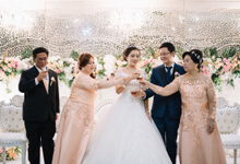 Wedding Day Meriska Hendric by Luminous Bridal Boutique
