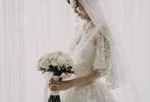 Wedding Day Arden and Septi by Luminous Bridal Boutique