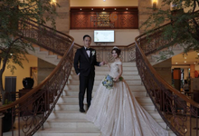 Wedding Day Abraham and Jessica by Luminous Bridal Boutique