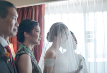 Wedding Day Agnes and Reinaldo by Luminous Bridal Boutique