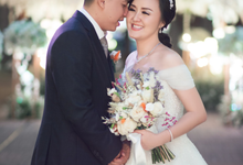 Wedding Day Chyntia and Adi by Luminous Bridal Boutique