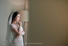 Wedding Day Chandra and Sahfitry by Luminous Bridal Boutique
