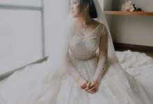 Wedding Day Danny and Amelia by Luminous Bridal Boutique