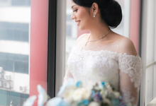 Wedding Day Brian and Caroline by Luminous Bridal Boutique