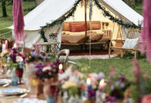 Luxury Boho style wedding  by lusso Events