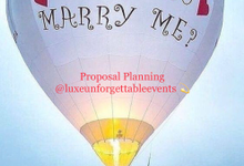 Proposal Planning in Sydney Australia  by LUXE - Unforgettable Events