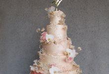 The Wedding of Jeremiah & Teresia by KAIA Cakes & Co.