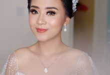 The Wedding of Hilaschya & Yoshua  by Lydia Merry Makeup Artist