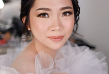 Wedding Makeup by Melisa by Lydia Merry Makeup Artist