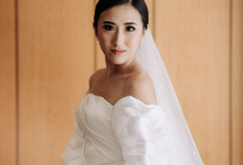 Albert & Eunike Wedding  by Lydia Merry Makeup Artist