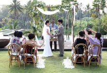 The Wedding of Masae & Takahiro by The Wedding Mood