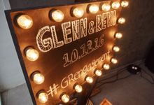 Decoration Engagement Glenn & Reva by Top Fusion Wedding