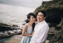 ZhenYi & Megan in Pre Wedding Bali by Desmond Sean Teo