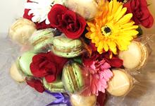 Macaron Bouquet by PastryDen Pte Ltd