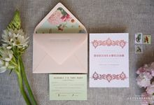 Bespoke Letterpress - Madeline and William by Bespoke Letterpress