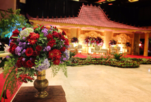 Alit & Clara Wedding Reception by Maeera Decoration