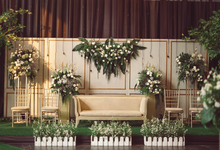 The wedding of Akbar & Rara by Maeera Decoration
