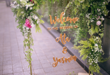 ATA & Yasmin Wedding  by Maeera Decoration