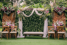 ATA & Yasmin Wedding  by Maeera Decoration