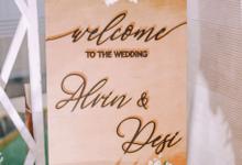 Desi & Alvin Wedding  by Maeera Decoration