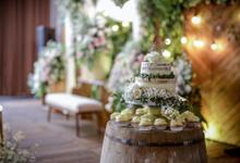 Nieke & Josh Wedding  by Maeera Decoration