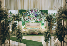 Novilia & Farid Wedding  by Maeera Decoration