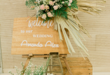 Amanda & Alex Wedding by Maeera Decoration