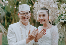 Puteri & Zaki Wedding Akad And Reception by Maeera Decoration