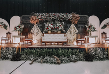Dian & Eric Wedding  by Maeera Decoration