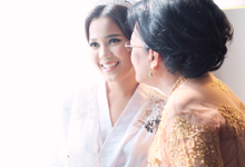 Makeup and Hairdo for Grendy & Magdalena Wedding by Magdalena Young Bridal