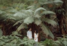 Prewedding Shoot Conquering Different Natural Sights of Victoria Australia by fire, wood & earth