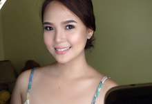Trial Makeup for Ms. Aulaire Marianne Bunag by Magic Touch by Klick Victoria