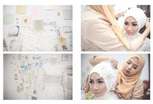 Flowers&Volkswagen // The Wedding of Dya + Seto by Kite Creative Pictures