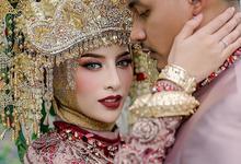 The Wedding of Aghnia - Reinukky by Mahar Agung Organizer