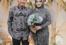 The Engagement of Evan Dimas - Zahra by Mahar Agung Organizer