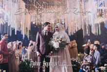 The Wedding of Evan Dimas - Zahra by Mahar Agung Organizer