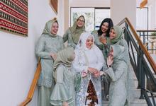 The Wedding of Nurita dan Aan by Mahar Agung Organizer