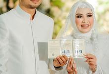 The Wedding of Affifah & Danny by Mahar Agung Organizer