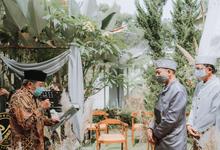 The Wedding of Incha & Jati by Mahar Agung Organizer