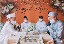 The Wedding of Anggi & Alfian by Mahar Agung Organizer