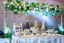 Wedding of Mahendra & Yulia - Jardin Sweet Corner by Questo La Casa Pastry