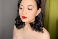 Airbrush Makeup for Tina  by Make Up Artistry by Jac Sindayen
