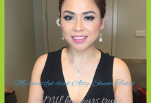 Atty Sheena for her Ms IBP Pageant by Make Up Artistry by Jac Sindayen