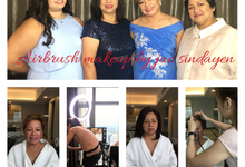 Clients from Australia  by Make Up Artistry by Jac Sindayen